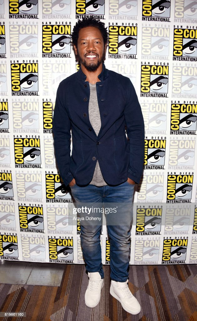 Actor Tory Kittles at the 'Colony' press line during Comic-Con International 2017 at Hilton Bayfront on July 20, 2017 in San Diego, California.