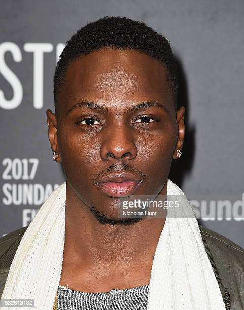 Actor Tosin Cole attends the Burning Sands Premiere at Eccles Center Theatre on January 24 2017 in Park City Utah