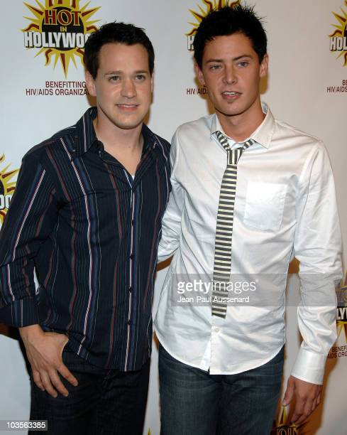 Actor TR Knight and guest arrive at the third annual Hot in Hollywood held at Avalon on August 16, 2008 in Hollywood, California.