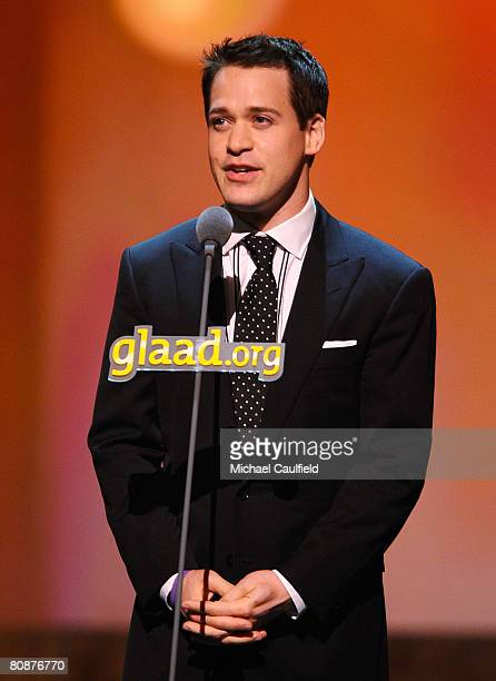 Actor T.R. Knight at the 19th Annual GLAAD Media Awards on April 25, 2008 at the Kodak Theatre in Hollywood, California.