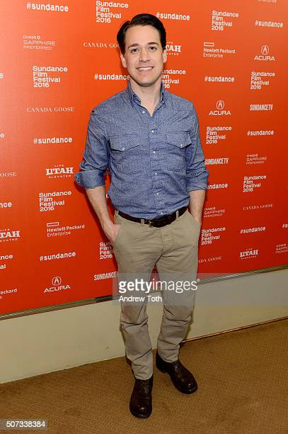 Actor TR Knight attends the 112263 Sundance premiere on January 28 2016 in Park City Utah