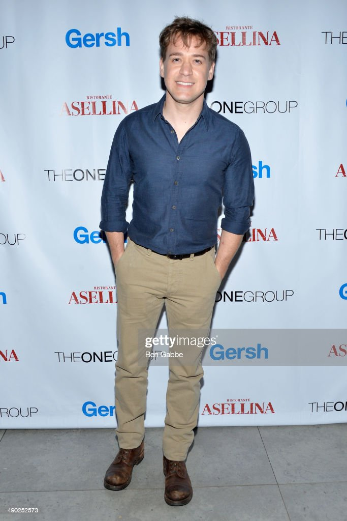 Actor T.R. Knight attends the Gersh New York Upfronts Party at Asellina at the Gansevoort on May 13, 2014 in New York City.