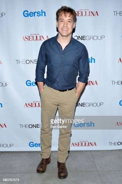 Actor TR Knight attends the Gersh New York Upfronts Party at Asellina at the Gansevoort on May 13 2014 in New York City
