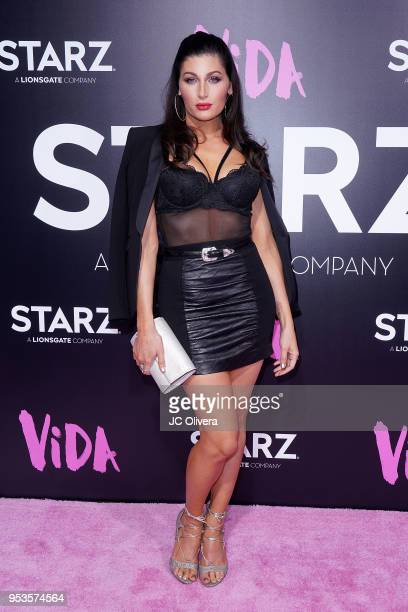 Actor Trace Lysette attends Starz 'Vida' premiere at Regal LA Live Stadium 14 on May 1 2018 in Los Angeles California