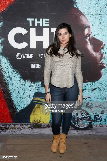 Actor Trace Lysette attends THE CHI Party presented by SHOWTIME and Amazon Channels at the IMDb Studio on January 19 2018 in Park City Utah