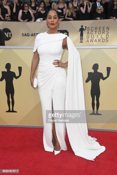 Actor Tracee Ellis Ross attends the 24th Annual Screen Actors Guild Awards at The Shrine Auditorium on January 21 2018 in Los Angeles California