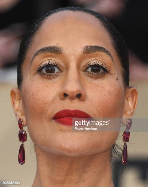 Actor Tracee Ellis Ross attends the 24th Annual Screen ActorsGuild Awards at The Shrine Auditorium on January 21 2018 in Los Angeles California