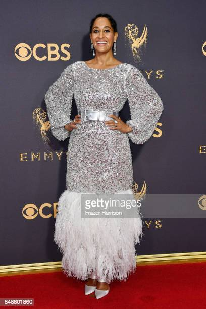 Actor Tracee Ellis Ross attends the 69th Annual Primetime Emmy Awards at Microsoft Theater on September 17, 2017 in Los Angeles, California.