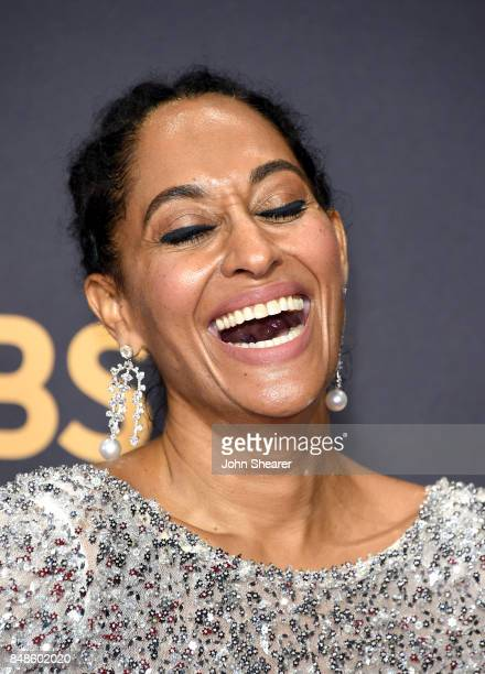 Actor Tracee Ellis Ross attends the 69th Annual Primetime Emmy Awards at Microsoft Theater on September 17 2017 in Los Angeles California