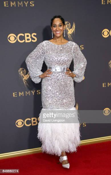 Actor Tracee Ellis Ross attends the 69th Annual Primetime Emmy Awards Arrivals at Microsoft Theater on September 17 2017 in Los Angeles California