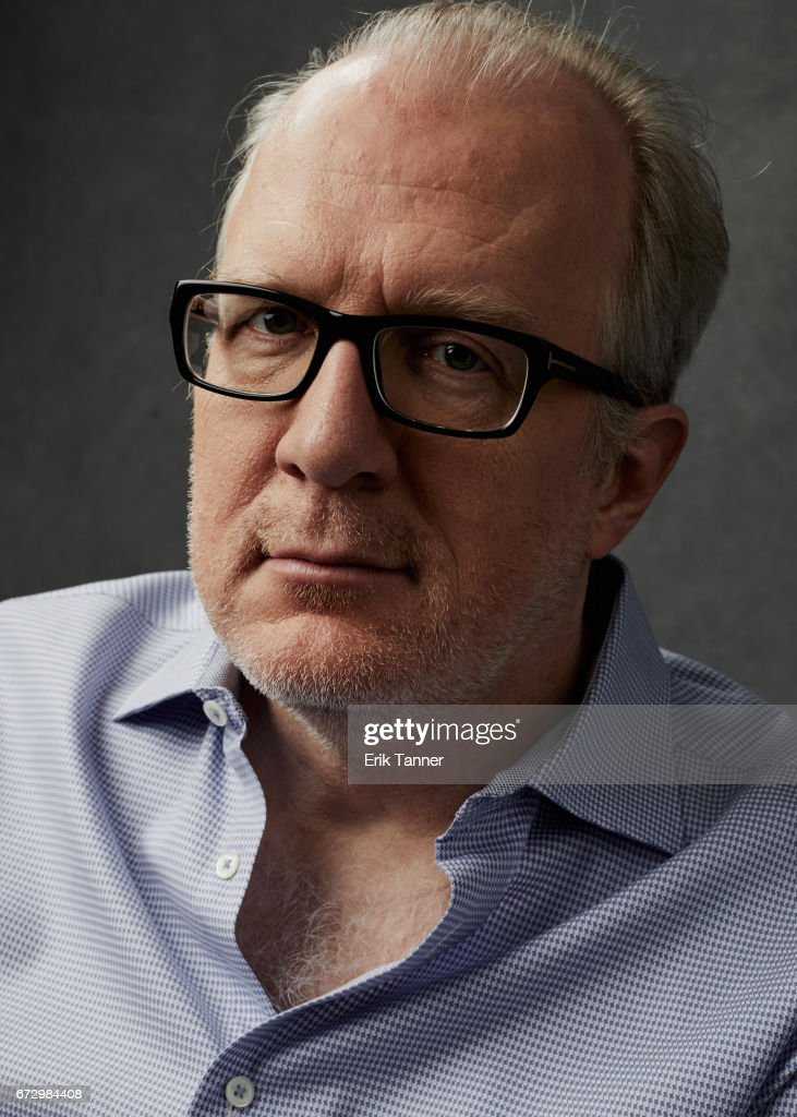 Actor Tracy Letts from 'The Lovers' poses at the 2017 Tribeca Film Festival portrait studio on on April 23, 2017 in New York City.