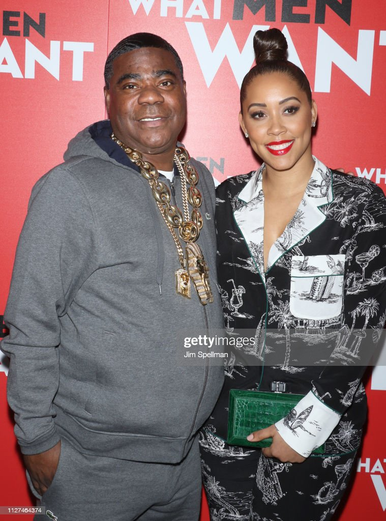 actor tracy morgan and wife megan wollover attend the. Black Bedroom Furniture Sets. Home Design Ideas