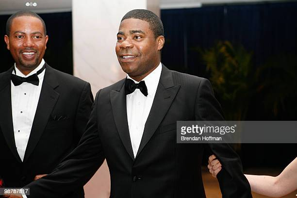 Actor Tracy Morgan arrives at the White House Correspondents' Association dinner on May 1 2010 in Washington DC The annual dinner featured comedian...