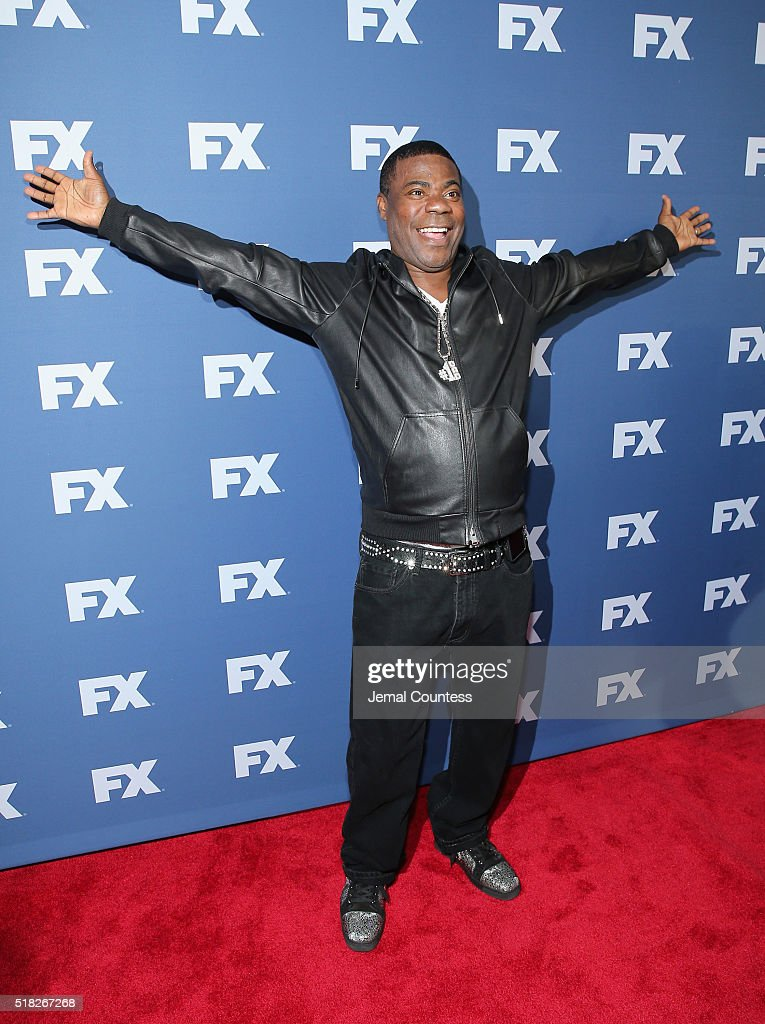 Actor Tracy Morgan attends the FX Networks Upfront screening of 'The People v. O.J. Simpson: American Crime Story' at AMC Empire 25 theater on March 30, 2016 in New York City.