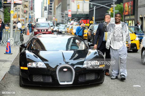 """Actor Tracy Morgan enters the """"The Late Show With Stephen Colbert"""" taping at the Ed Sullivan Theater on May 11, 2017 in New York City."""