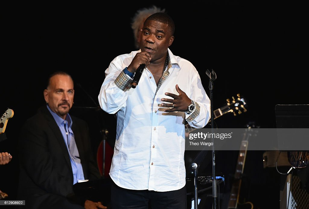 Actor Tracy Morgan speaks onstage during Little Kids Rock Benefit 2016 at Capitale on October 5, 2016 in New York City.