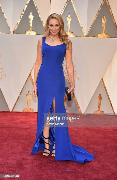 Actor Tracy Pollan attends the 89th Annual Academy Awards at Hollywood Highland Center on February 26 2017 in Hollywood California