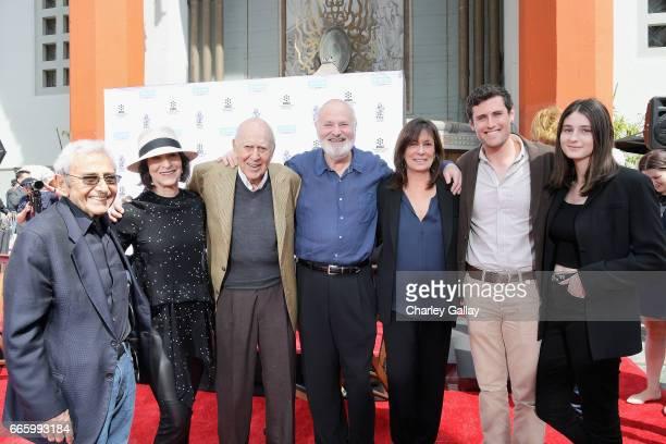 Actor Tracy Reiner honorees Carl Reiner and Rob Reiner actor Michele Singer Reiner writer Nick Reiner and Rony Reiner attend the Carl and Rob Reiner...