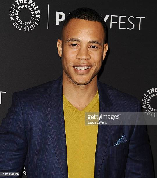 Actor Trai Byers attends the Empire event at the 33rd annual PaleyFest at Dolby Theatre on March 11 2016 in Hollywood California