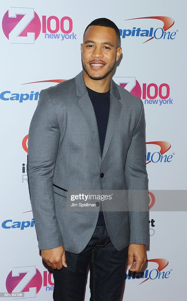 Actor Trai Byers attends the Z100's iHeartRadio Jingle Ball 2015 at Madison Square Garden on December 11, 2015 in New York City.