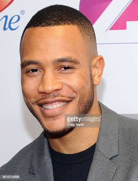 Actor Trai Byers attends Z100's Jingle Ball 2015 at Madison Square Garden on December 11 2015 in New York City