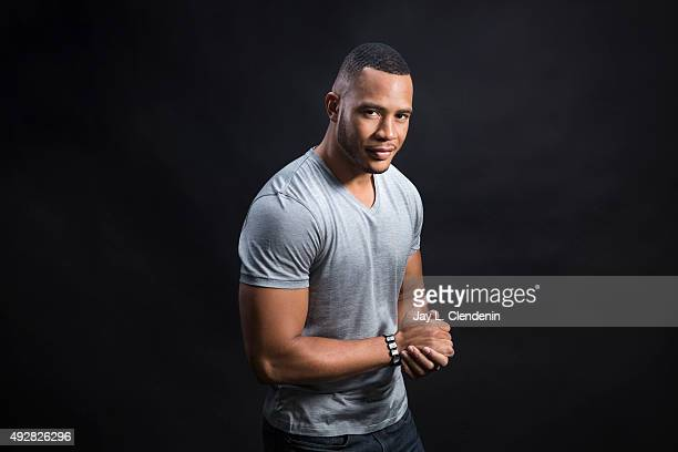 Actor Trai Byers is photographed for Los Angeles Times on October 1 2015 in Los Angeles California PUBLISHED IMAGE CREDIT MUST READ Jay L...