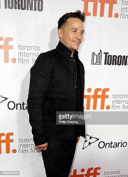 Actor Travis Aaron Wade attends 'The Forger' premiere during the 2014 Toronto International Film Festival at Roy Thomson Hall on September 12 2014 in...