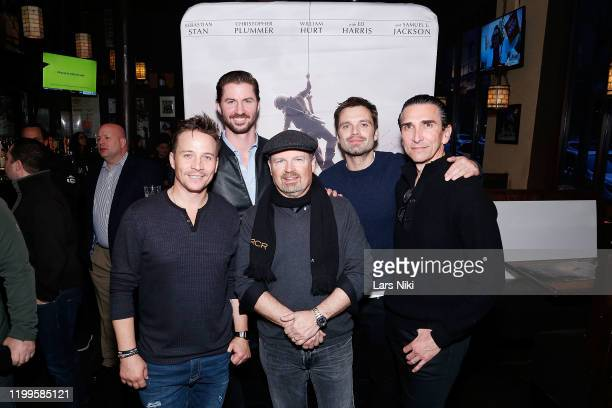 Actor Travis Aaron Wade, Operation Heal Our Heroes CEO and co-founder Everett Weston, producer Todd Robinson, actor Sebastian Stan and producer...