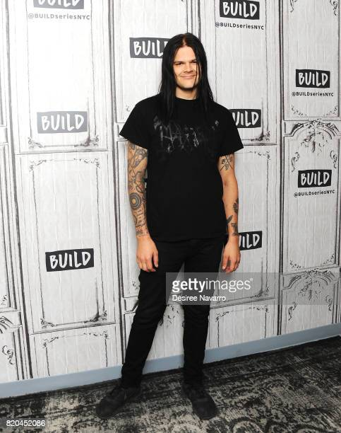 Actor Travis Bacon attends Build previewing the new Lifetime film 'Story of a Girl' at Build Studio on July 21 2017 in New York City