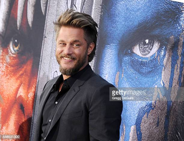 Actor Travis Fimmel arrives at the premiere of Universal Pictures' 'Warcraft' at TCL Chinese Theatre IMAX on June 6 2016 in Hollywood California