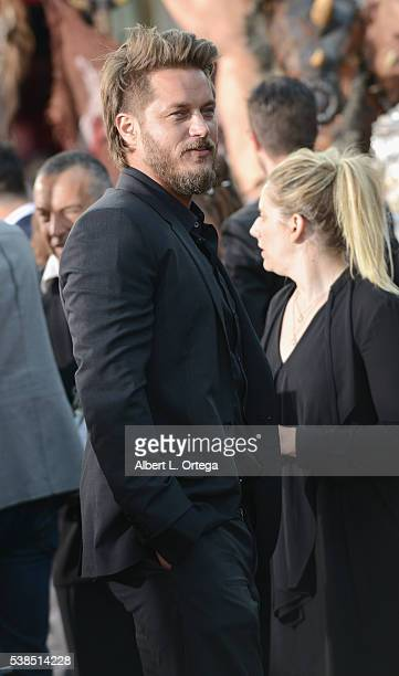 Actor Travis Fimmel arrives for the Premiere Of Universal Pictures' 'Warcraft' held at TCL Chinese Theatre IMAX on June 6 2016 in Hollywood California
