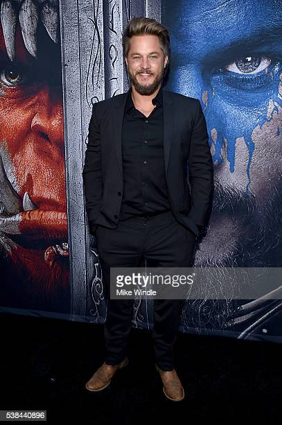 Actor Travis Fimmel attends the premiere of Universal Pictures' Warcraft at TCL Chinese Theatre IMAX on June 6 2016 in Hollywood California