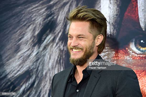Actor Travis Fimmel attends the premiere of Universal Pictures' 'Warcraft at TCL Chinese Theatre IMAX on June 6 2016 in Hollywood California