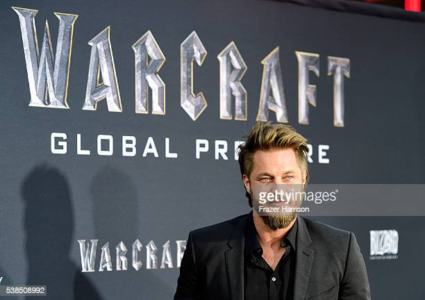 Actor Travis Fimmel attends the premiere of Universal Pictures' 'Warcraft at TCL Chinese Theatre IMAX on June 6 2016 at TCL Chinese Theatre IMAX on...