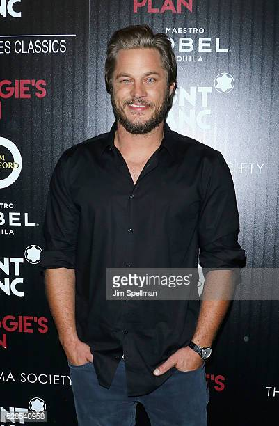 Actor Travis Fimmel attends the screening of Sony Pictures Classics' 'Maggie's Plan' hosted by Montblanc and The Cinema Society with Mastro Dobel Kim...