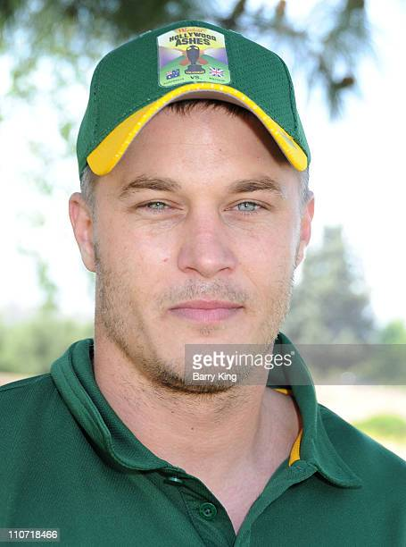 Actor Travis Fimmel attends the Westfield Hollywood Ashes Cricket Match held at Woodley Park Cricket Field on May 9 2009 in Van Nuys California