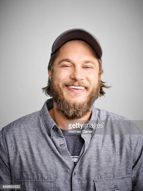 Actor Travis Fimmel from 'Vikings' is photographed for Entertainment Weekly Magazine on July 22 2016 at Comic Con in the Hard Rock Hotel in San Diego...