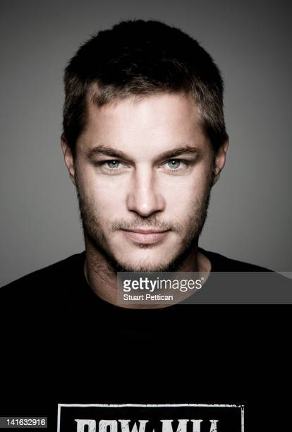 Actor Travis Fimmel is photographed for Self Assignment on July 10 2008 in Los Angeles California