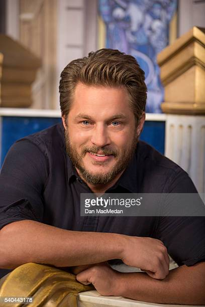 Actor Travis Fimmel is photographed for USA Today on May 11 2016 in Los Angeles California