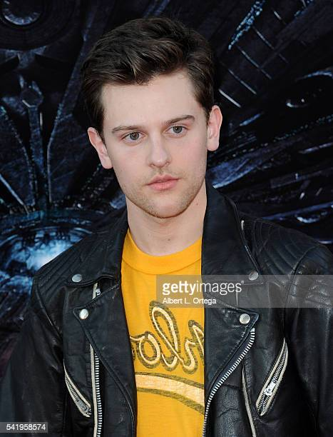 """Actor Travis Tope arrives for the Premiere Of 20th Century Fox's """"Independence Day: Resurgence"""" held at TCL Chinese Theatre on June 20, 2016 in..."""