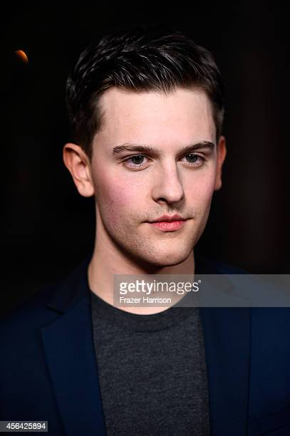 """Actor Travis Tope attends Paramount Pictures' """"Men, Women & Children"""" premiere at Directors Guild Of America on September 30, 2014 in Los Angeles,..."""