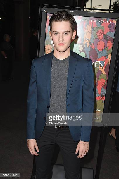 """Actor Travis Tope attends the """"Men, Women And Children"""" Los Angeles Premiere at DGA Theater on September 30, 2014 in Los Angeles, California."""