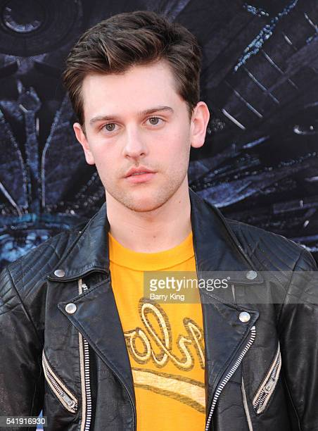 Actor Travis Tope attends the premiere of 20th Century Fox's' 'Independence Day: Resurgence' at TCL Chinese Theatre on June 20, 2016 in Hollywood,...