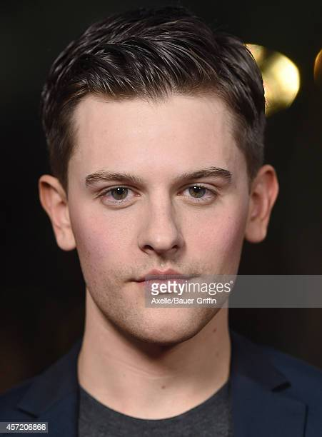 Actor Travis Tope attends the premiere of 'Men, Women and Children' at DGA Theater on September 30, 2014 in Los Angeles, California.