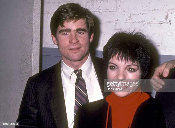 Actor Treat Williams and Actress Liza Minnelli attend the 'Some Men Need Help' OffBroadway Play Performance on November 13 1982 at 47th Street...