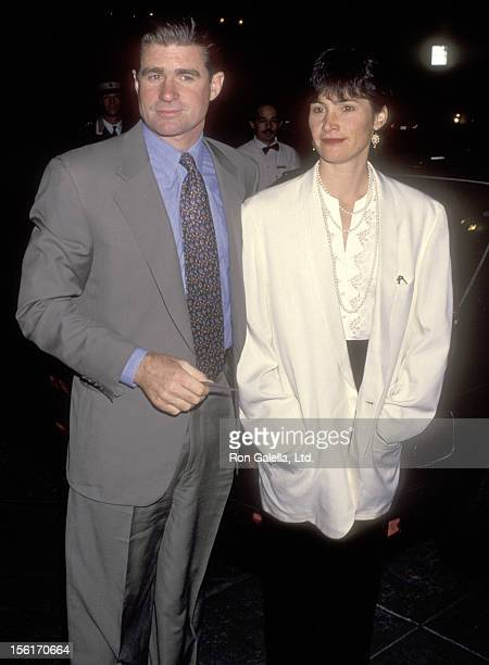 Actor Treat Williams and wife Pam Van Sant attend Cheryl Kagan's Wedding Receptiom on November 27 1993 at Four Seasons Hotel in Beverly Hills...