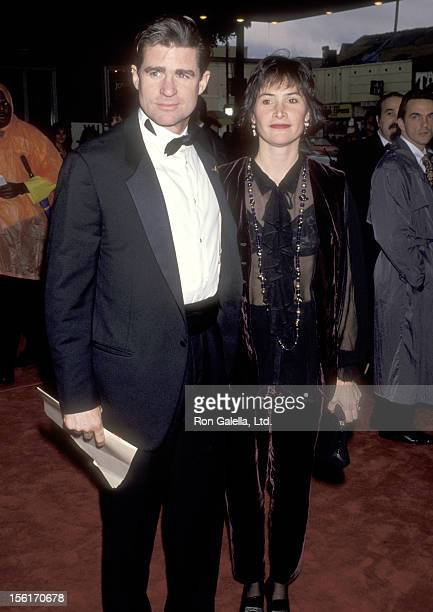 Actor Treat Williams and wife Pam Van Sant attend the 14th Annual National CableACE Awards on January 17 1993 at Pantages Theatre in Hollywood...
