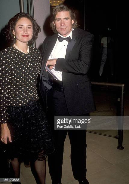 Actor Treat Williams and wife Pam Van Sant attend The Maple Center's 1990 Distinguished Community Service Award Honoring Carol and Jerry Katzman on...