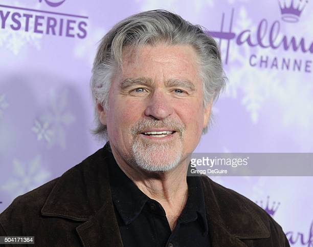 Actor Treat Williams arrives at the Hallmark Channel and Hallmark Movies and Mysteries Winter 2016 TCA Press Tour at Tournament House on January 8...