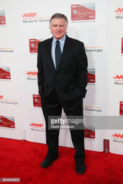 Actor Treat Williams attends the AARP's 16th Annual Movies for Grownups Awards at the Beverly Wilshire Four Seasons Hotel on February 6 2017 in...